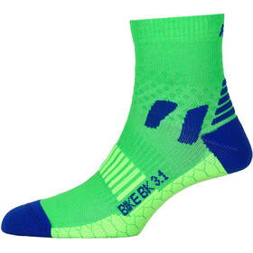 P.A.C. BK 3.1 Bike Cool Chaussettes Homme, neon green
